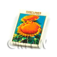 Dolls House Flower Seed Packet - Sunflower