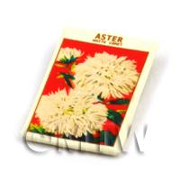 Dolls House Flower Seed Packet - Comet Aster