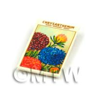 Dolls House Flower Seed Packet - Chrysanthemum