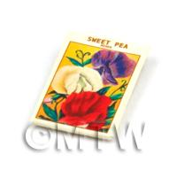 Dolls House Flower Seed Packet - Sweet Pea