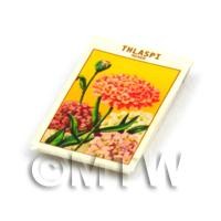 Dolls House Flower Seed Packet - Thlaspi