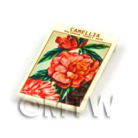 Dolls House Flower Seed Packet - Camellia