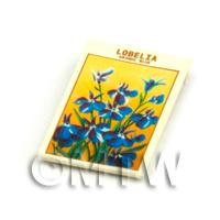 Dolls House Flower Seed Packet - Lobelia