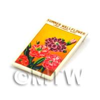 Dolls House Flower Seed Packet - Wall Flower