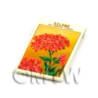 Dolls House Flower Seed Packet - Silene
