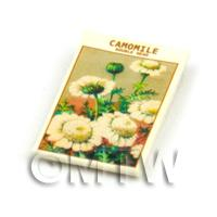 Dolls House Flower Seed Packet - Camomile