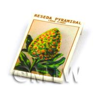 Dolls House Flower Seed Packet - Reseda Pyramidal