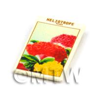 Dolls House Flower Seed Packet - Mixed Helitrope