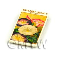 Dolls House Flower Seed Packet - Daylight Beauty
