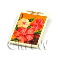 Dolls House Flower Seed Packet - Periwinkle