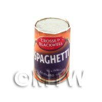 Dolls House Miniature Can of Cross and Blackwell Spaghetti