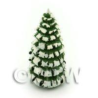 Dolls House Miniature 40mm Snow Tree