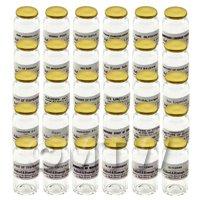 30 Miniature Glass Apothecary Bulk Storage Jars Set 7/7