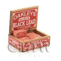 Dolls House Filled Oakleys Lead Shop Counter Display Box