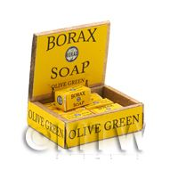 Dolls House Filled Borax Soap Shop Counter Display Box