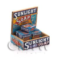Dolls House Filled Sunlight 12oz Soap Shop Counter Display Box