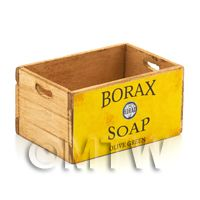 Dolls House Borax Olive Green Branded Wooden Crate