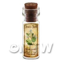 Dolls House Apothecary Jesuits Bark Herb Short Colour Label And Bottle
