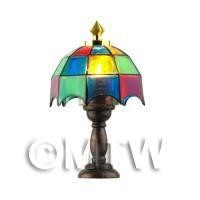 1/12th scale - Dolls House Miniature Tiffany Lamp