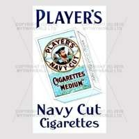 Dolls House Miniature Players Navy Cut Cigarette Shop Sign Circa 1910