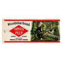 Dolls House Miniature Wassahickon Tomato Pulp Label (1920s)