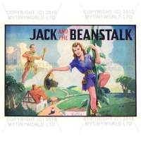 Dolls House Miniature 1930s Jack And The Beanstalk Theatrical Poster
