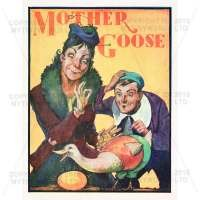 Dolls House Miniature 1930s Mother Goose Theatrical Poster