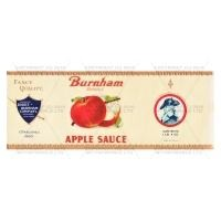 Dolls House Miniature Burnam Apple Sauce Label (1930s)