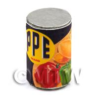 Dolls House Miniature PPE Brand Mixed Vegetables Can (1930s)