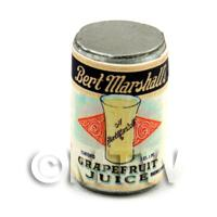 Dolls House Miniature Bert Marshalls Grapefruit Juice Can (1920s)