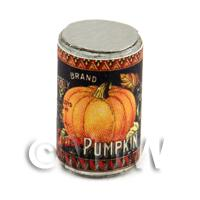 Dolls House Miniature Butterfly Brand Pumpkin Can (1890s)