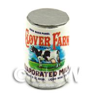Dolls House Miniature Clover Farm Evaporated Milk Can (1920s)