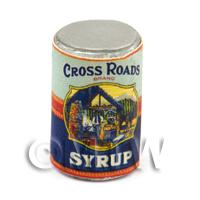 Dolls House Miniature Cross Roads Syrup Can (1920s)