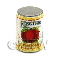 Dolls House Miniature Electric Brand Tomatoes Can (1900s)