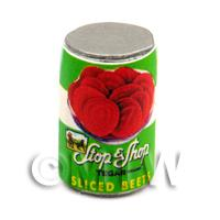 Dolls House Miniature Stop And Shop Brand Tomatoes Can (1940s)