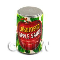 Dolls House Miniature Lakemead Brand Apple Sauce Can (1940s)