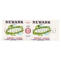 Dolls House Miniature Newark Sweet Corn Label (1920s)