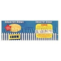 1/12th scale - Dolls House Miniature Country Home Sweet Corn Label (1940s)