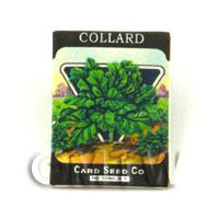 Dolls House Miniature Garden Collard Seed Packet