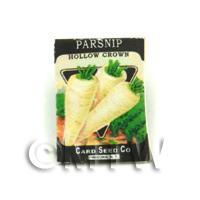 Dolls House Miniature Garden Crown Parsnip Seed Packet