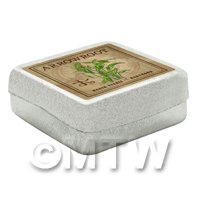 1/12th scale - Dolls House Herbalist/Apothecary  Arrowroot Square Herb Box