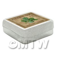 Dolls House Herbalist/Apothecary English Oak Square Herb Box