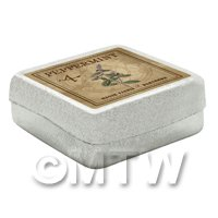 Dolls House Herbalist/Apothecary Peppermint Square Herb Box