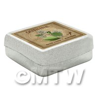 Dolls House Herbalist/Apothecary Quinine Square Herb Box