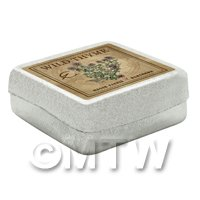 Dolls House Herbalist/Apothecary Thyme Square Herb Box