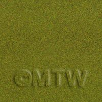 Dolls House Miniature Spring Green Landscape Mat