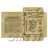Miniature DIY Victorian McCall Dress Packet (VDP01)