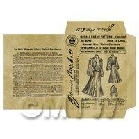 Miniature DIY Victorian McCall Dress Packet (VDP03)