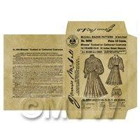 Miniature DIY Victorian McCall Dress Packet (VDP04)