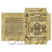 Miniature DIY Victorian McCall Dress Packet (VDP05)